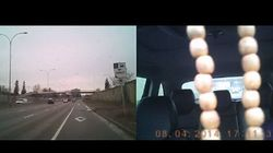 WATCH: Police Investigate Crazy, Dangerous Driving