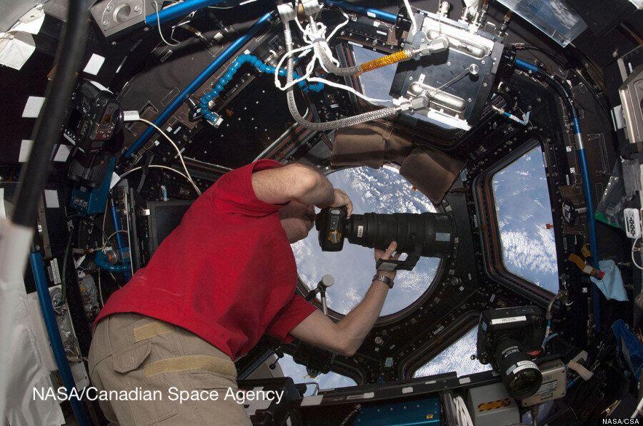 Chris Hadfield's Spectacular Space Photos