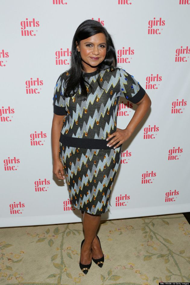 Mindy Kaling's Knit Kenzo Outfit Is Perfect For The Holidays