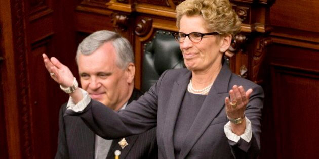 Kathleen Wynne Ignores Calls To Trim Size Of