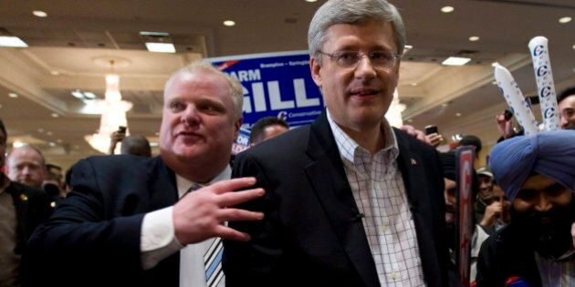 Harper On Ford: Toronto Voters Will Pass Judgment, He Can't Have My