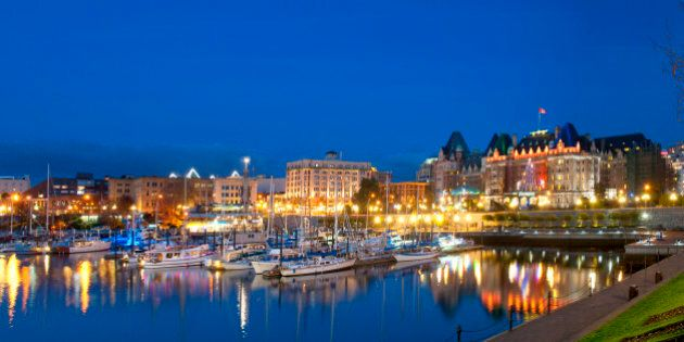 Victoria Is Canada's Most Romantic City: