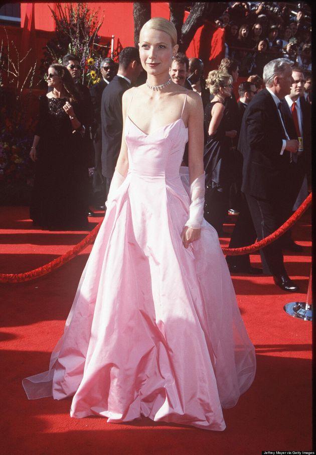 Gwyneth Paltrow Channels The '90s In Sexy Prada Dress