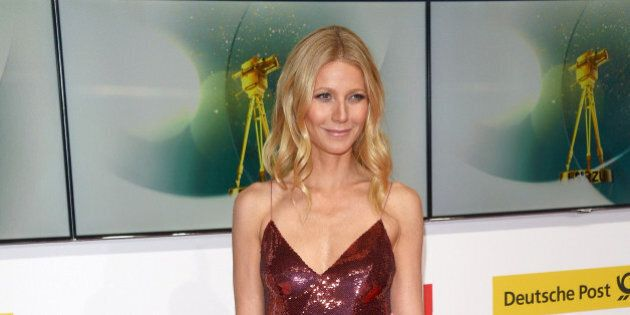 BERLIN, GERMANY - FEBRUARY 01: Gwyneth Paltrow attends the 49th Golden Camera Awards at Tempelhof Airport...