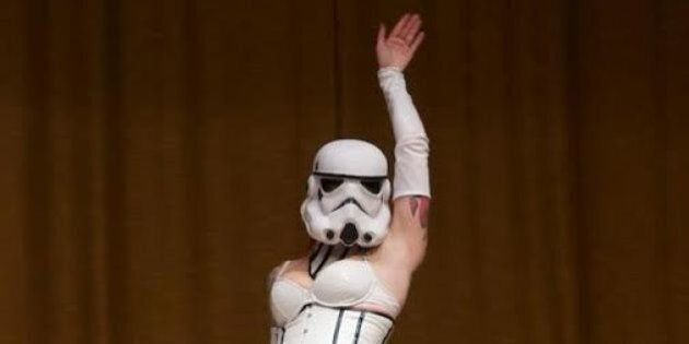 'Star Wars' Burlesque Show Hits The Rio Theatre