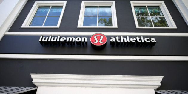 MIAMI, FL - DECEMBER 10: A sign hangs on a Lululemon Athletica on December 10, 2013 in Miami, Florida....