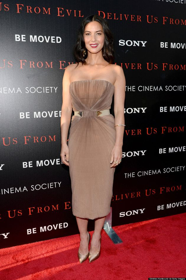 Olivia Munn's Nude Dress Is Totally Flawless