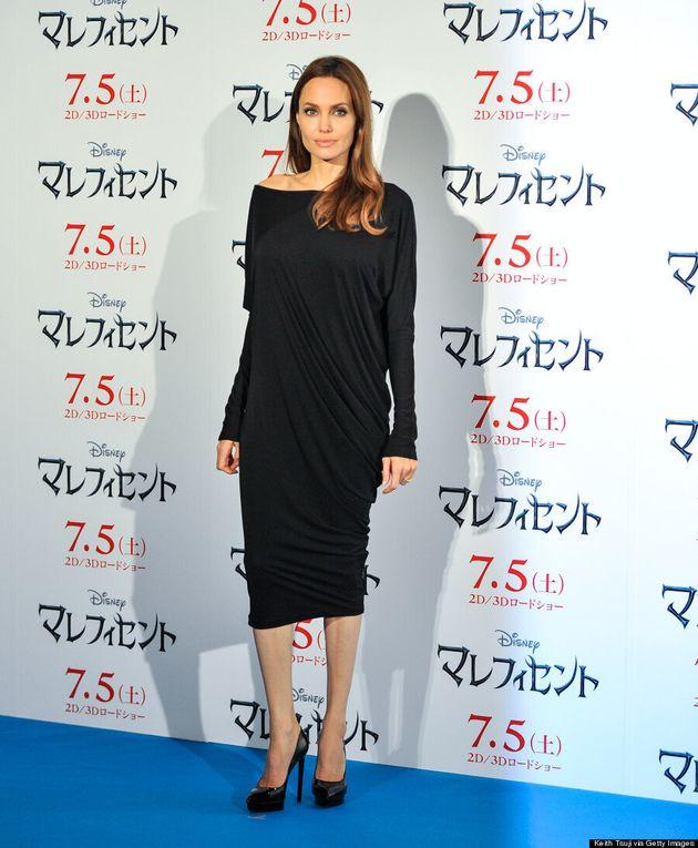Angelina Jolie Puts An Unusual Twist In The