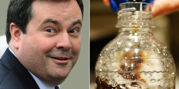 Jason Kenney Loves His Controversial SodaStream