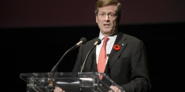 John Tory's Remarks On Gender Pay Gap Spark