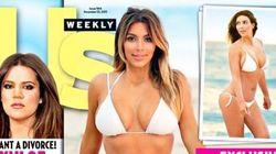 Kim Flaunts Her Amazing Bikini