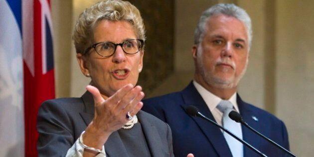 Wynne, Couillard Urge Feds To Hike Infrastructure