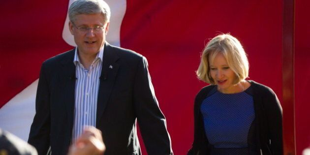 Harper Tags Trudeau As 'Elite' In Run Up To 2015 Federal