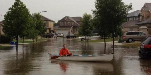 Winnipeg, Southern Manitoba Thunderstorm Leads To Major