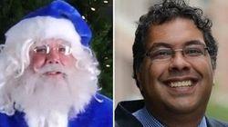 WestJet Passenger Tells Santa She Wants Nenshi For