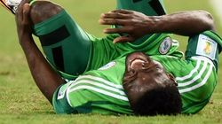 WATCH: Brutal Moment World Cup Player's Arm Broke In