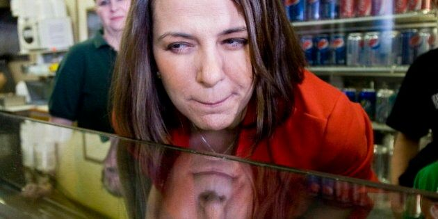 Danielle Smith, Wildrose Leader, Peers Into Election Crystal