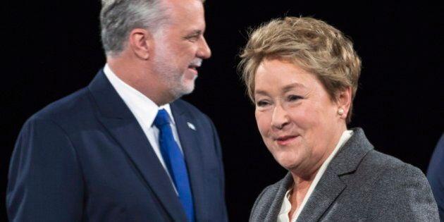First Quebec Election Debate May Benefit Liberals' Couillard