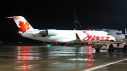 Passengers Evacuated After Air Canada Plane Catches