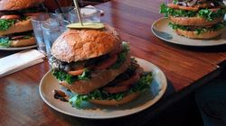 How To Eat A 2-Lb. Burger In An Hour (Or
