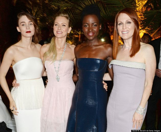 Lupita Nyong'o Makes Her Cannes 2014 Debut In Calvin Klein