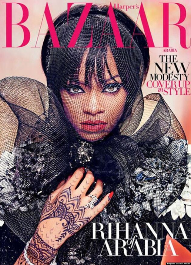 Rihanna's Harper's Bazaar Arabia Cover Is Better Than Her Instagram