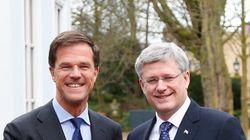 Harper In Netherlands On Eve Of G7