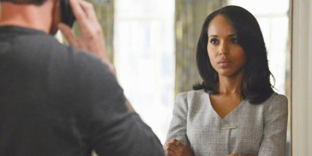 This publicity image released by ABC shows Kerry Washington is in scene