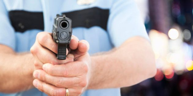 Edmonton Police Shoot At Truck To Stop Fleeing