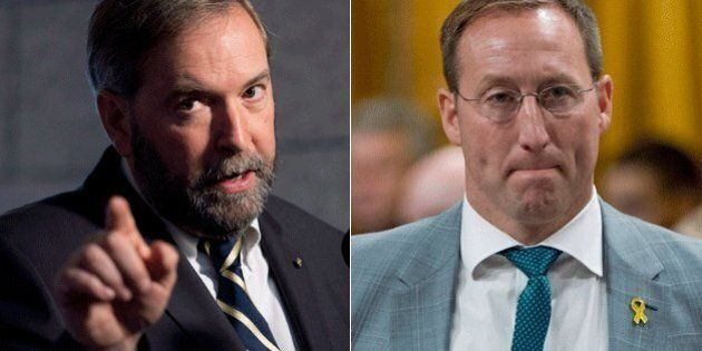 Thomas Mulcair: Peter MacKay Should Resign Or Be Fired Over