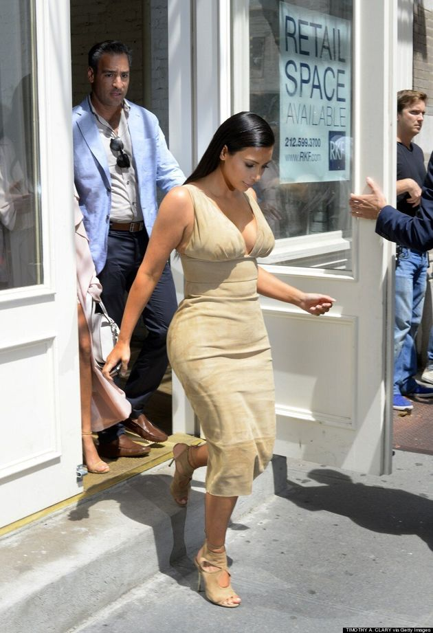 Kim Kardashian Is The Queen Of The Nude Dress