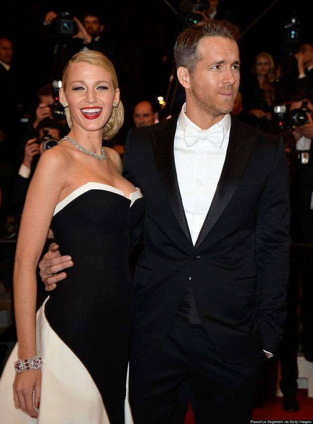 Blake Lively Channels Julia Roberts' Oscar Dress At 2014