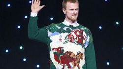 LOOK: Canucks In Ugly Christmas