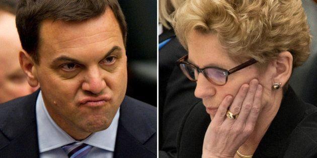 Ontario Votes: PCs, Liberals Throw Past At Each