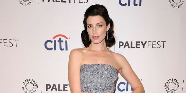 HOLLYWOOD, CA - MARCH 21: Actress Jessica Pare attends the 'Mad Men' event at the 2014 PaleyFest at Dolby...