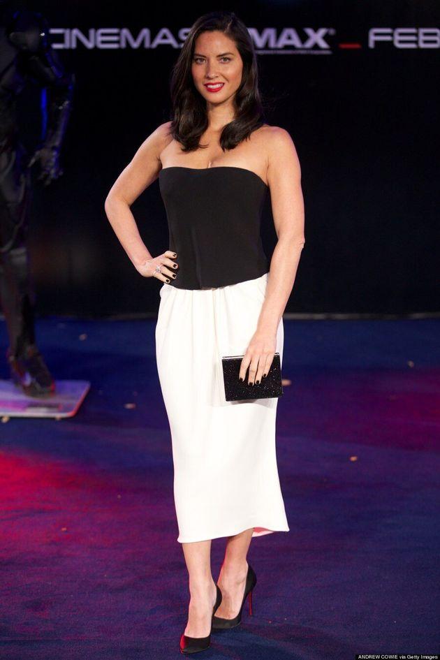 Olivia Munn Doesn't Need A Flashy Dress To Look Hot At 'RoboCop'