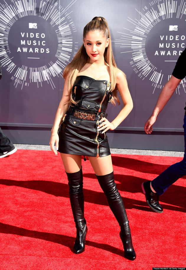 Ariana Grande's MTV VMAs 2014 Red Carpet Outfit Is Hot, Hot,