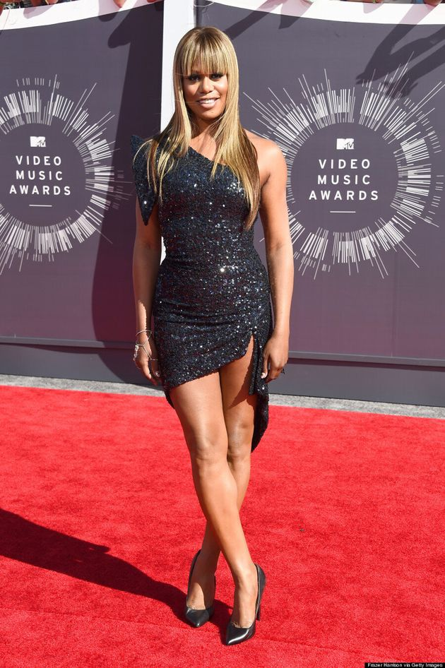 Laverne Cox's MTV VMAs 2014 Outfit Is Dangerously Sexy