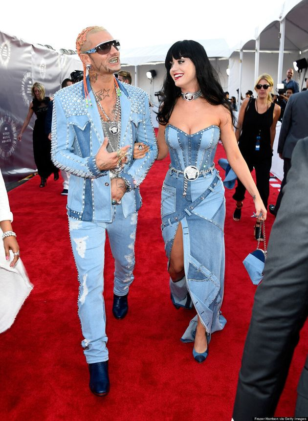 Katy Perry And Riff Raff Channel Britney Spears And Justin Timberlake At 2014 MTV