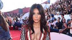 Kim K Proves She's Serious About Her