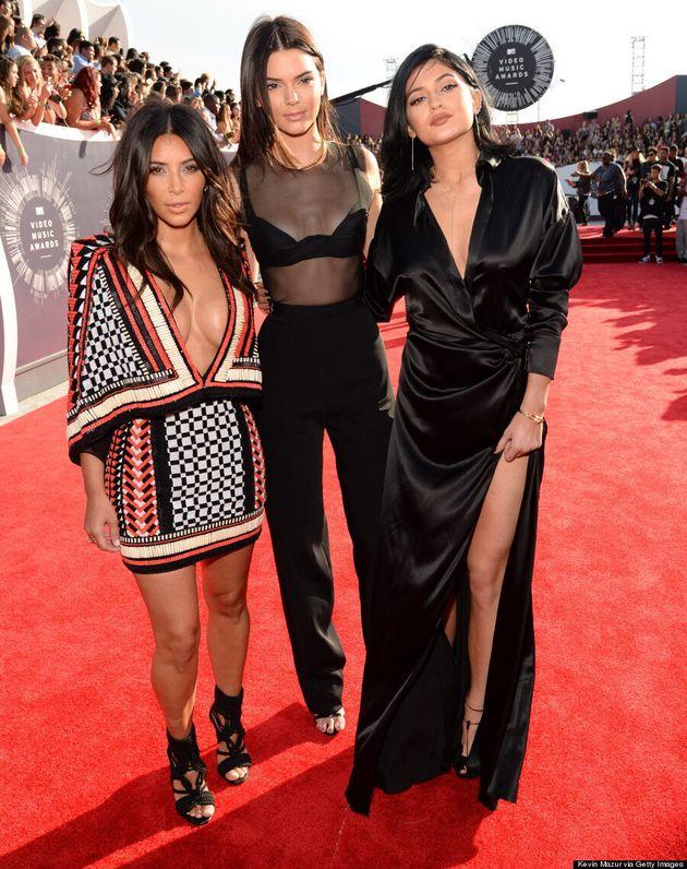 Kim Kardashian's 2014 MTV VMAs Dress Proves She's A One-Trick