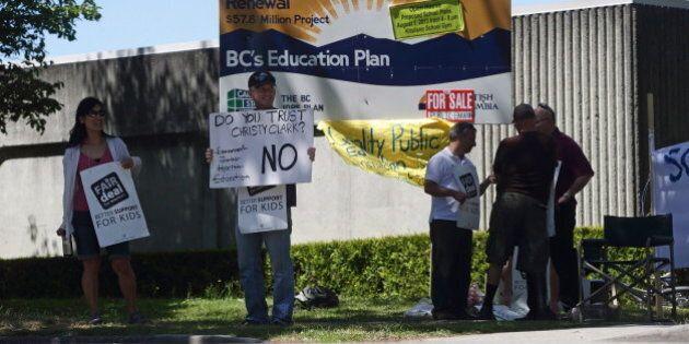 B.C. Teachers' Strike: Union Ramp Up Pressure On