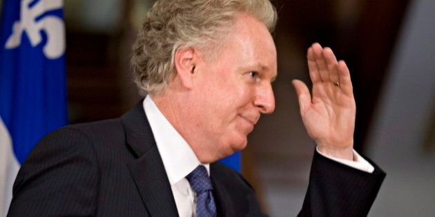 Jean Charest Says He's Finished With