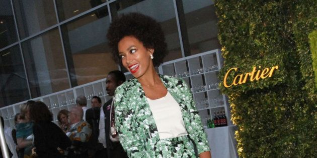 NEW YORK, NY - MAY 22: Solange Knowles attends the 2012 Party in the Garden benefit at the Museum of...