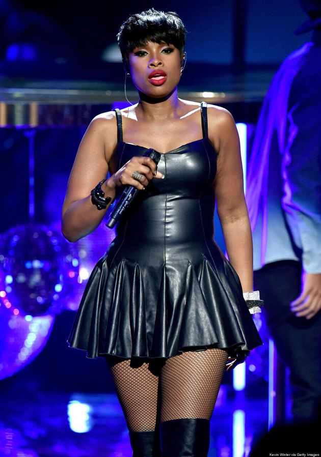 Jennifer Hudson's 2014 BET Awards Outfit Is Leather