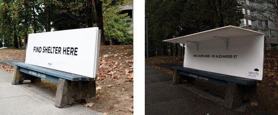 Homeless Bus Bench Design Hailed As Civil,