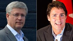 Trudeau's Liberals Have Big Lead Over Harper's Tories In New