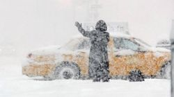 Snow Snarls Flights,
