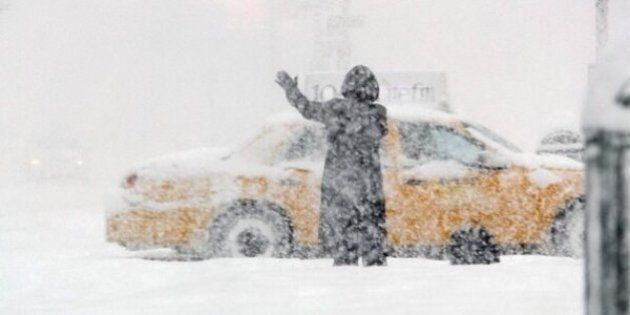 Snow Causing Travel Difficulties In Eastern And Central