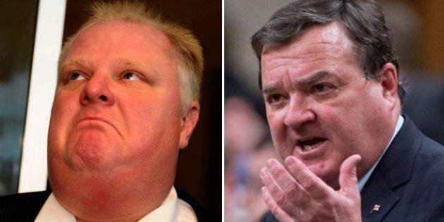 Jim Flaherty Implies Jason Kenney Crossed Onto His Turf In Criticizing Rob
